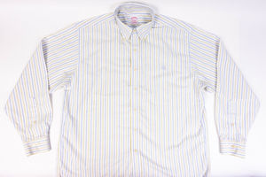 Brooks Brothers Non-Iron Button Down Shirt Size L